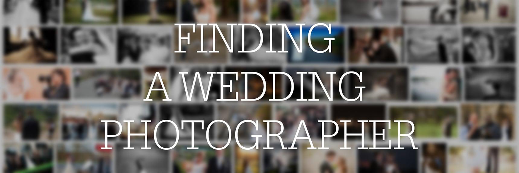 finding wedding photographers