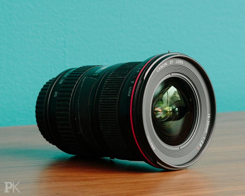 wedding photography equipment canon 16-35mm f2.8