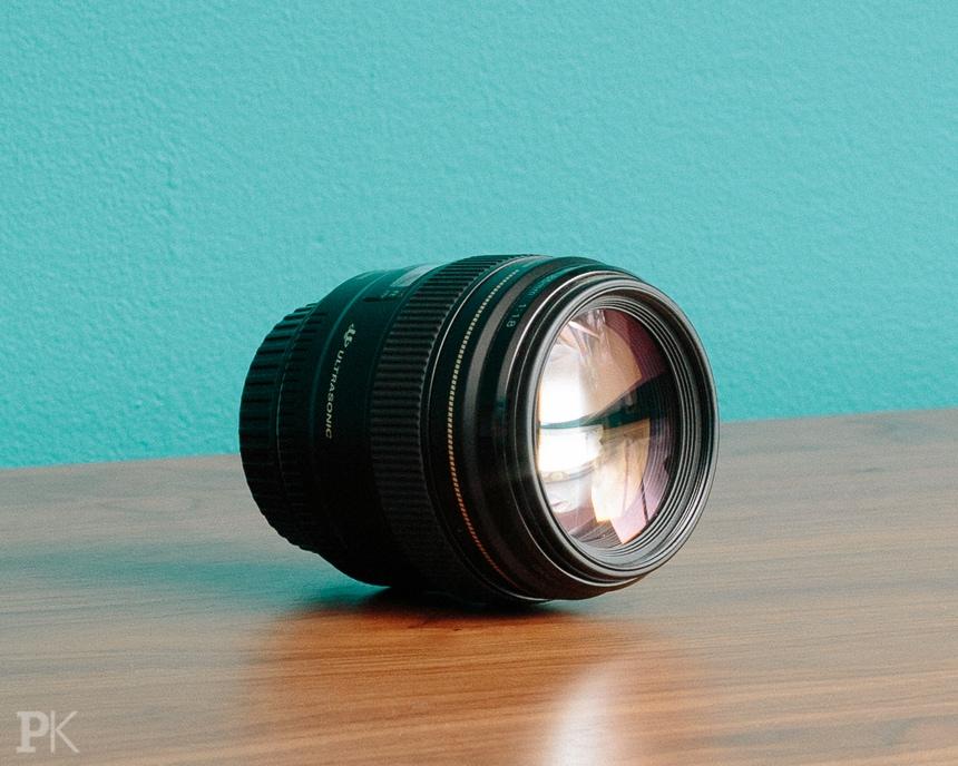 wedding photography equipment canon 85mm f1.8