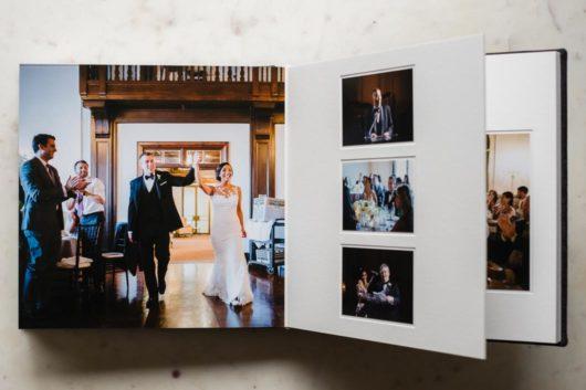 wedding photography pricelist album